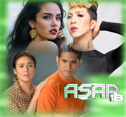 Gerald Anderson, Dawn Zulueta, Vice Ganda and Megan Young on ASAP 18 (September 1)