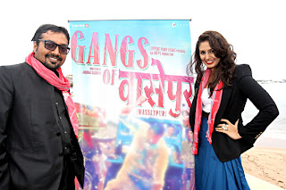 anurag kashyap with huma qureshi, cannes, gangs of wasseypur