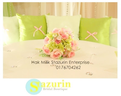 Garden+Mini+Pelamin+Apple+Green+Cream+Koleksi+Mini+Pelamin+Sweet+2014