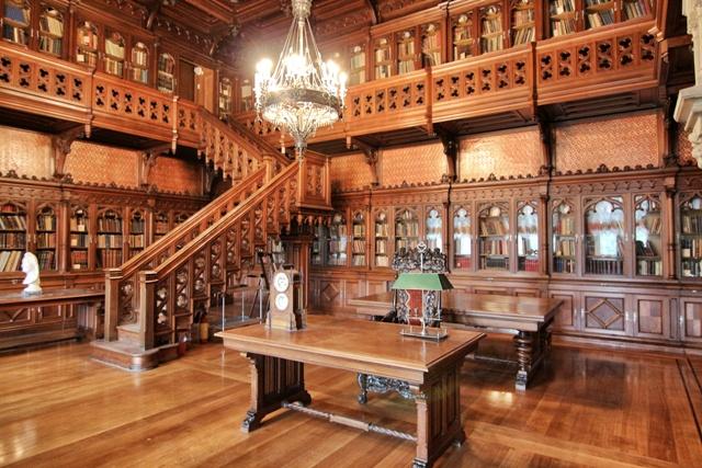 Librería en el Hermitage