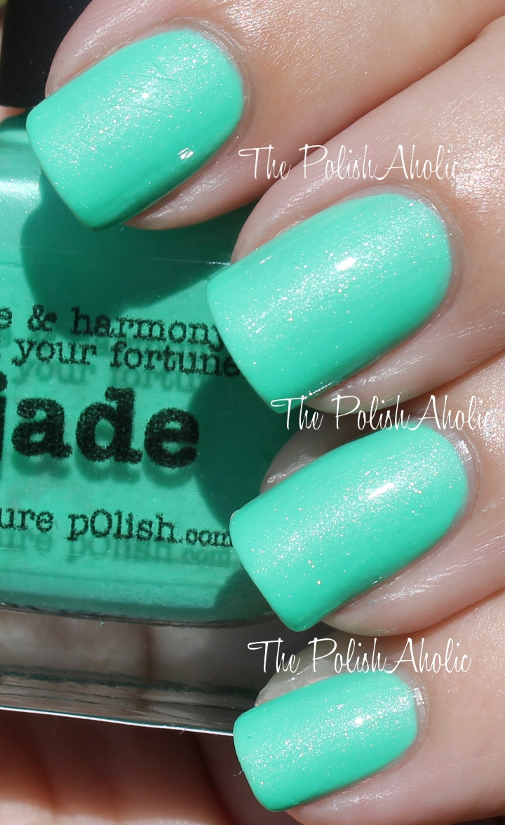 The PolishAholic: piCture pOlish Jade