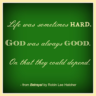 Betrayal quote by Robin Lee Hatcher
