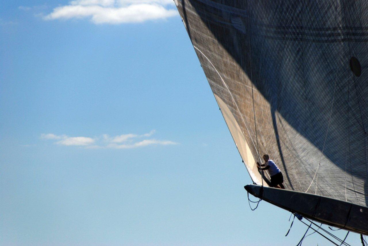 America's Cup J-Boat Ranger in Newport!