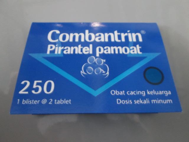 Obat Cacing Combantrin Tablet Vermox Obat Cacing