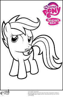 printable scootaloo coloring pictures
