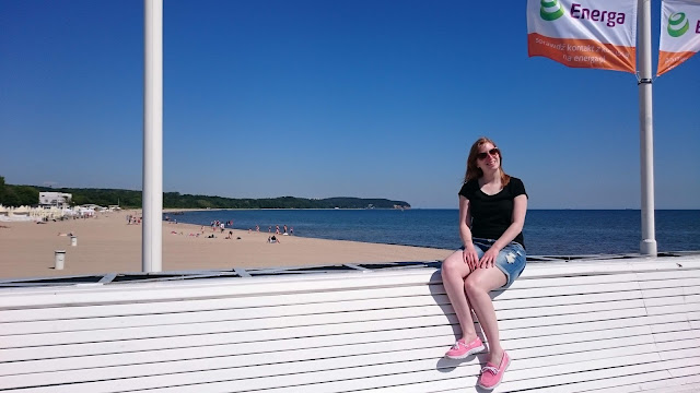 This is me at the molo of Sopot.