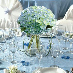 Decoraci  N De Bodas  Centros De Mesa Y Arreglos Florales Azul