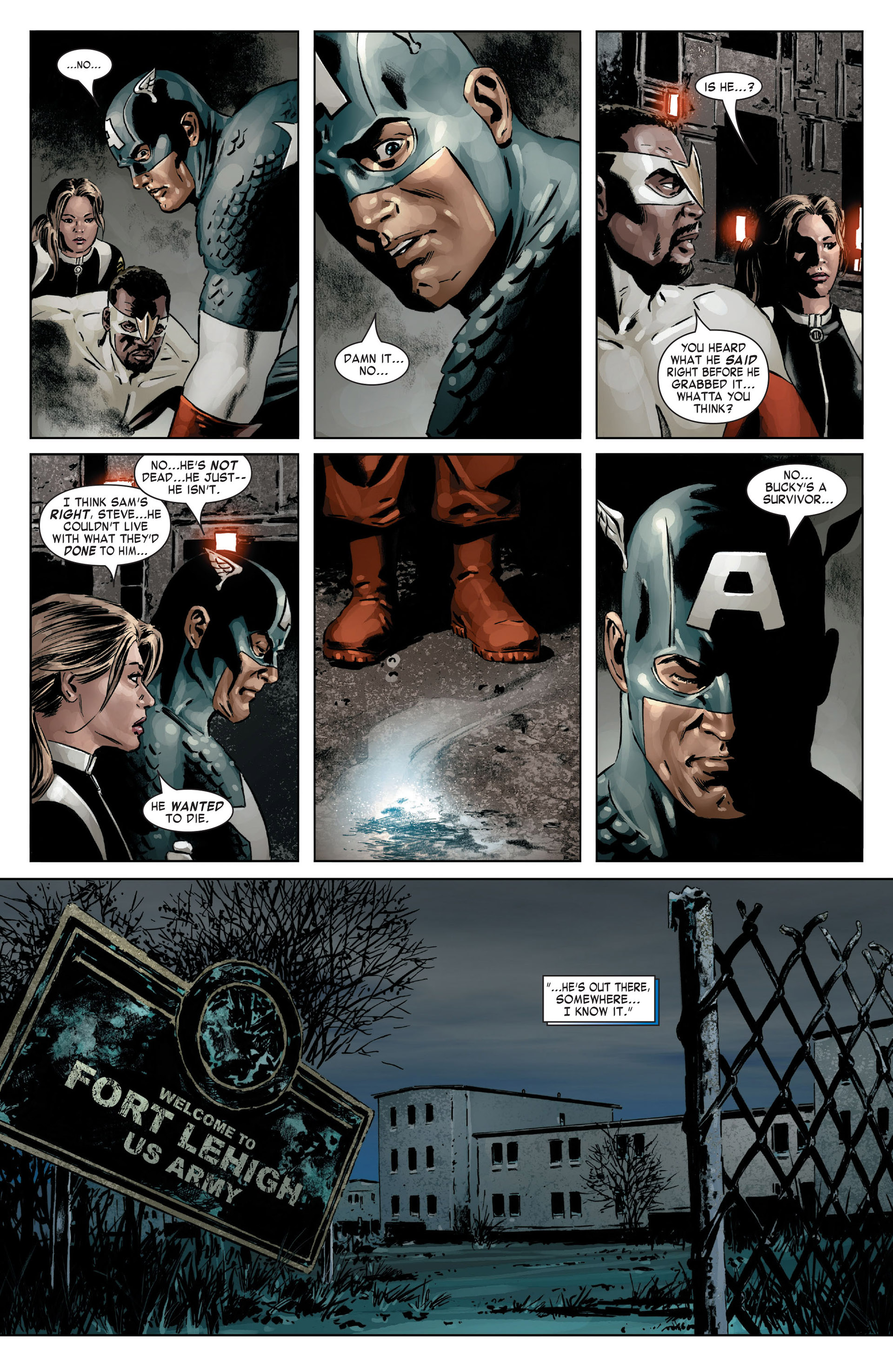 Captain America (2005) Issue #14 #14 - English 21