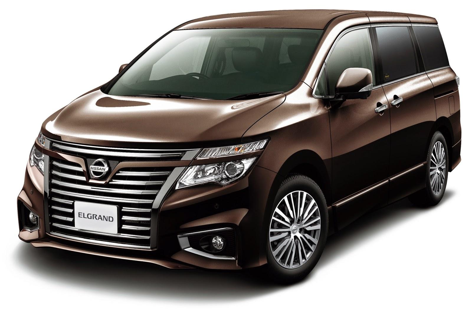 Nissan Elgrand 2015
