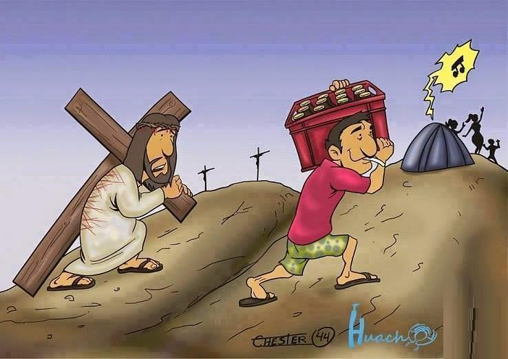 Semana Santa y el vía crucis