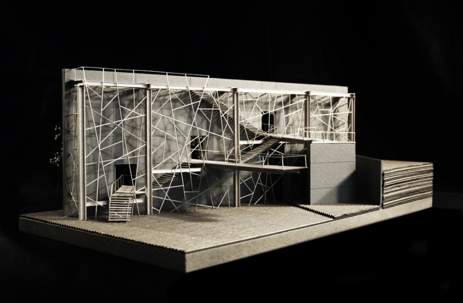 m cool model building architecture