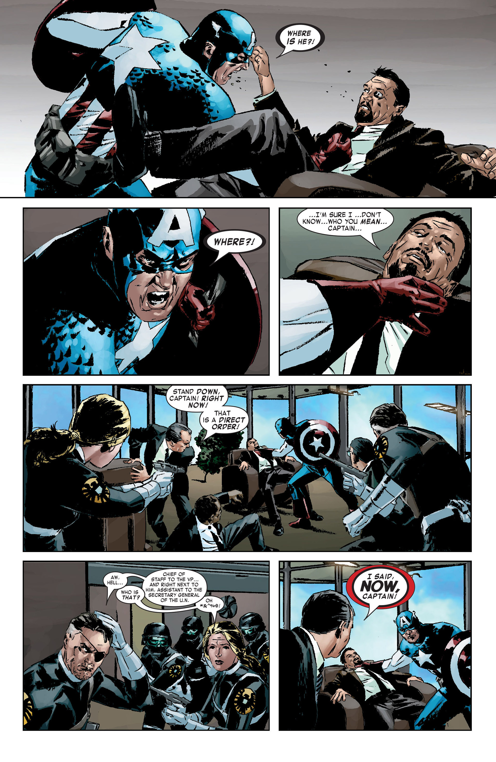 Captain America (2005) Issue #9 #9 - English 18