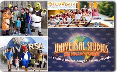 Paket Tour Ke Universal Studio Singapore
