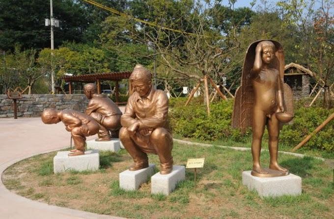 TAMAN MACAM NI PUN ADA DI KOREA
