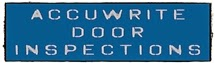 Accuwrite Fire Door Inspections