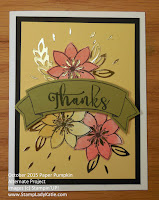 Alternate Project made with Stampin'UP!'s October 2015 Paper Pumpkin Stamp Set: Blissful Blossoms