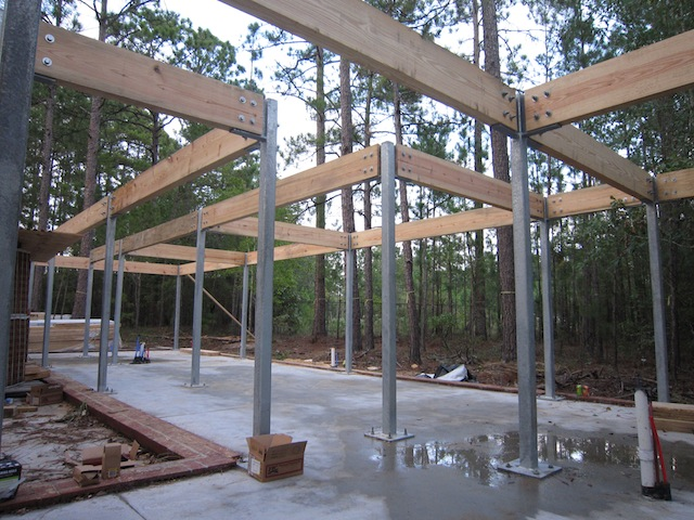 Church house beams for Structural beams for houses