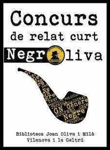 Primer Concurs de relat curt de gènere negre 'Negroliva'
