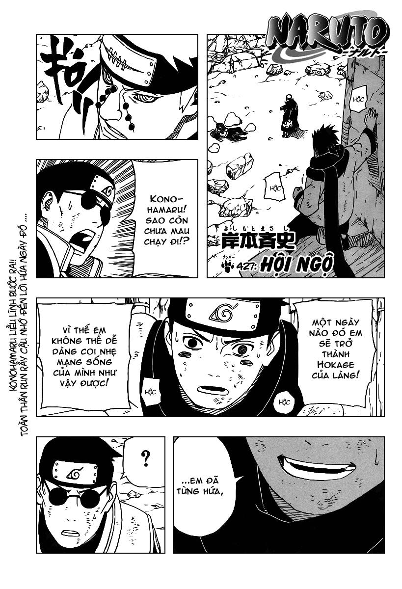 Naruto chap 427 Trang 1 - Mangak.info