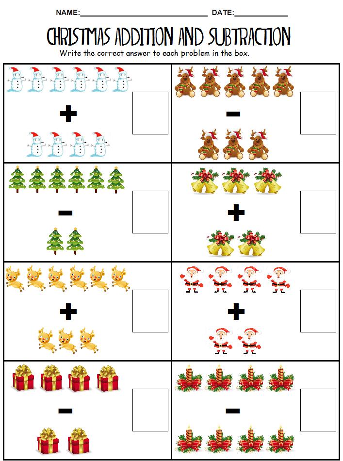 Worksheet 680880 Christmas Math Worksheets Christmas and – Christmas Kindergarten Worksheets Printable