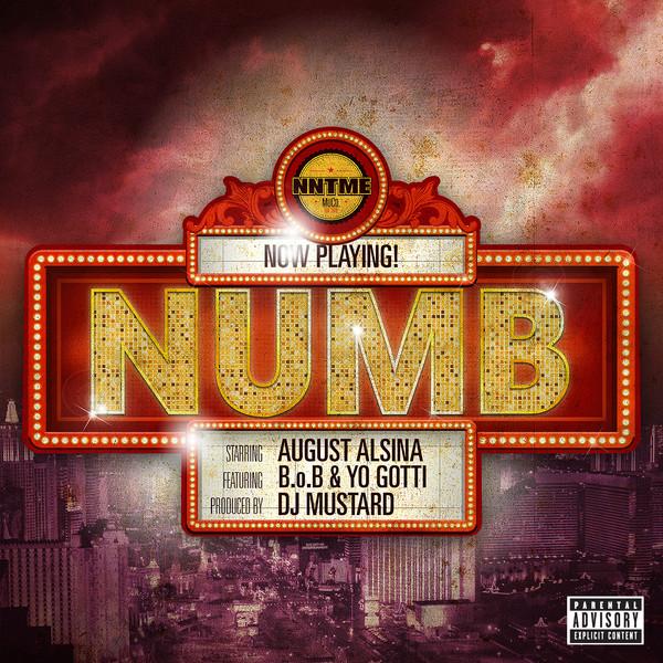 August Alsina - Numb (feat. B.o.B & Yo Gotti) - Single  Cover