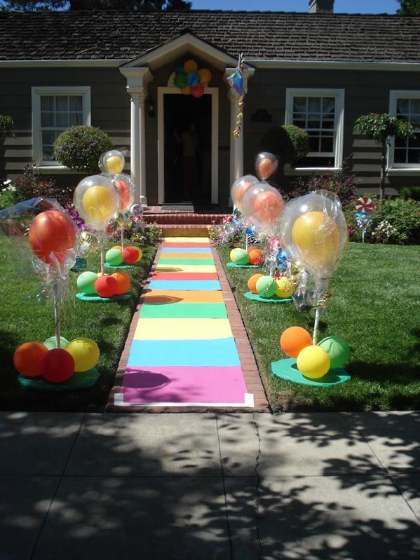 decoraci n para fiesta de candyland indicaciones ideas