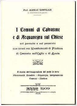 4. I Comuni di Calvatone e Acquanegra sul Chiese nel passato e nel presente