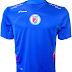 Saeta apresenta as camisas da Seleção do Haiti
