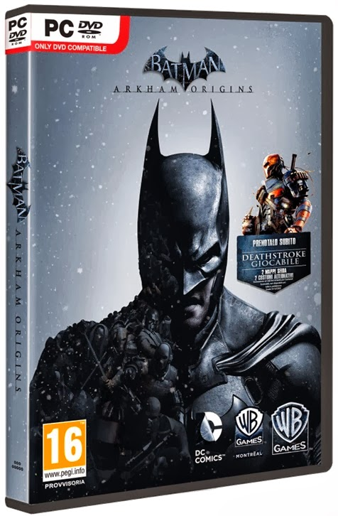 Download - Jogo Batman Arkham Origins-RELOADED + FullRip + PT-BR PC (2013)