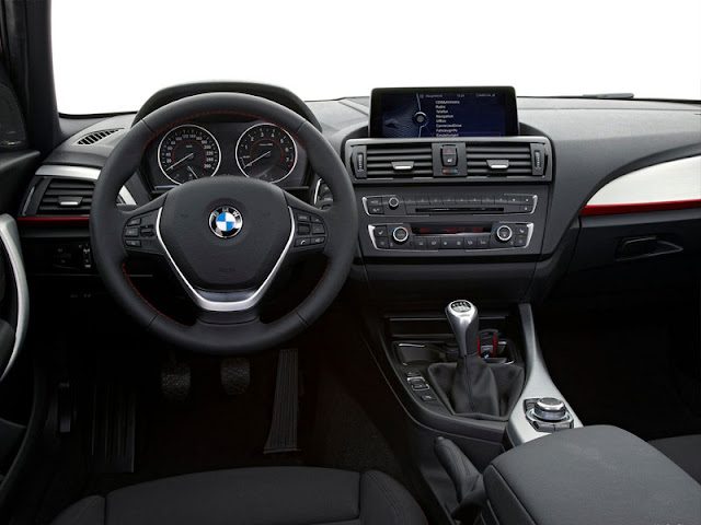 Inside picture of BMW 1