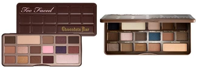 The Best NUDE/NEUTRAL Eyeshadow Palettes EVER. Too Faced:The Chocolate Bar Eye Palette   Semi Sweet Chocolate Bar.Najbolje senke za oci- neutralne boje.