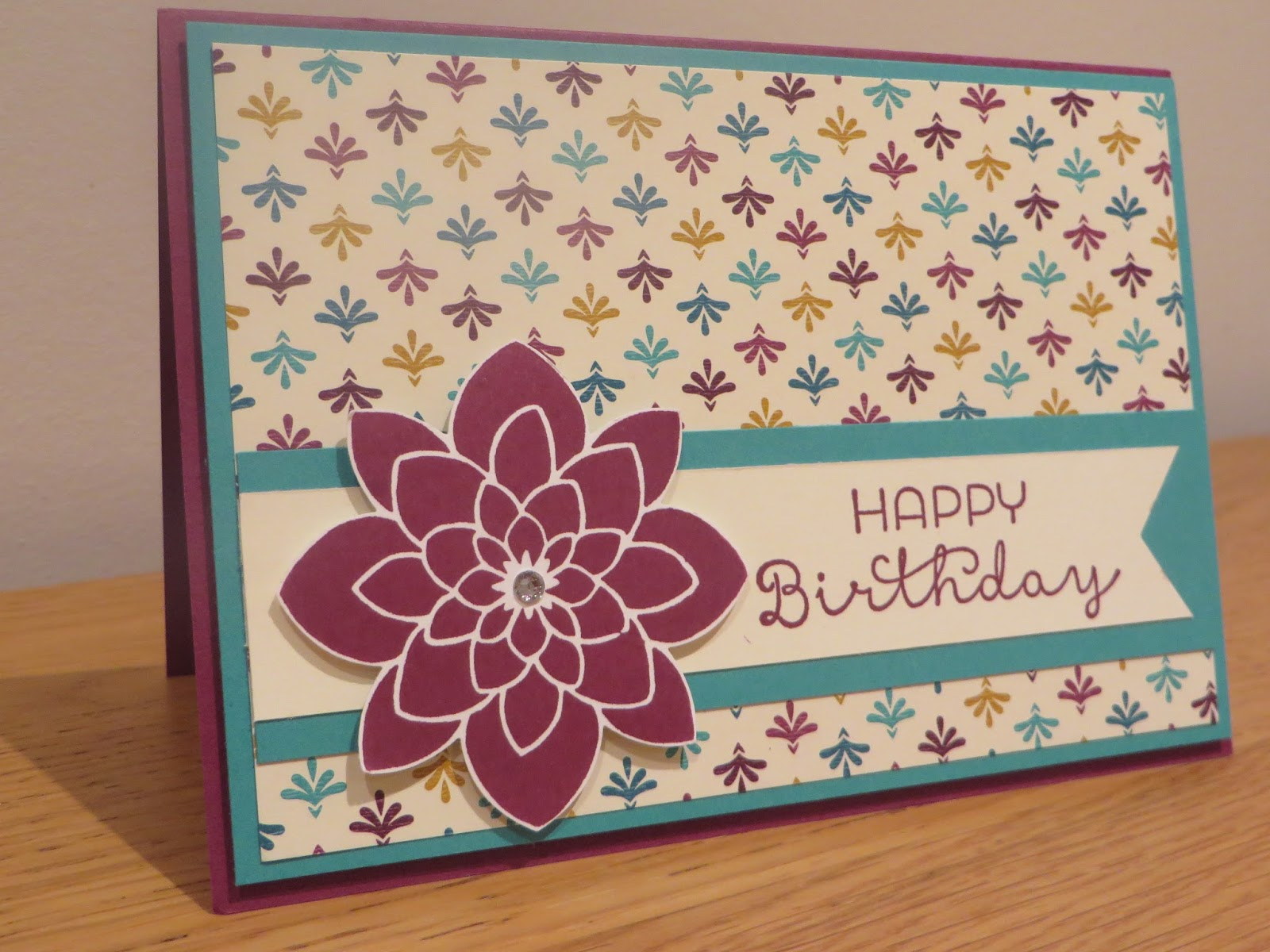 pop up gift card holder tutorial using crazy about you from stampin up