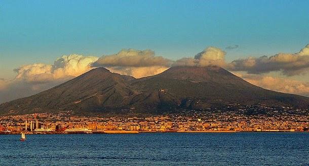 Monte Vesúvio, Itália