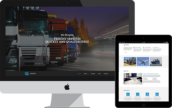 Logistic – Freight Services HTML Template