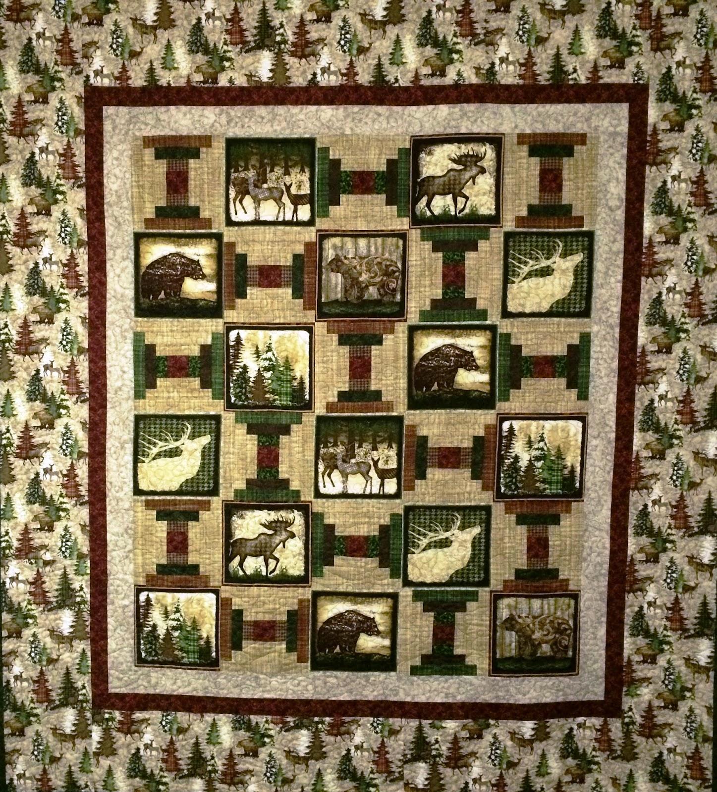Terri Manley's Wildlife Quilt