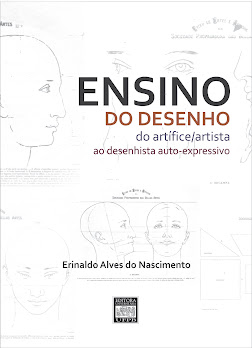 """Livro """"Ensino do Desenho: do artífice/artista ao desenhista auto-expressivo"""""""