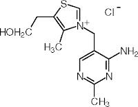 wzór chemiczny witaminy b1