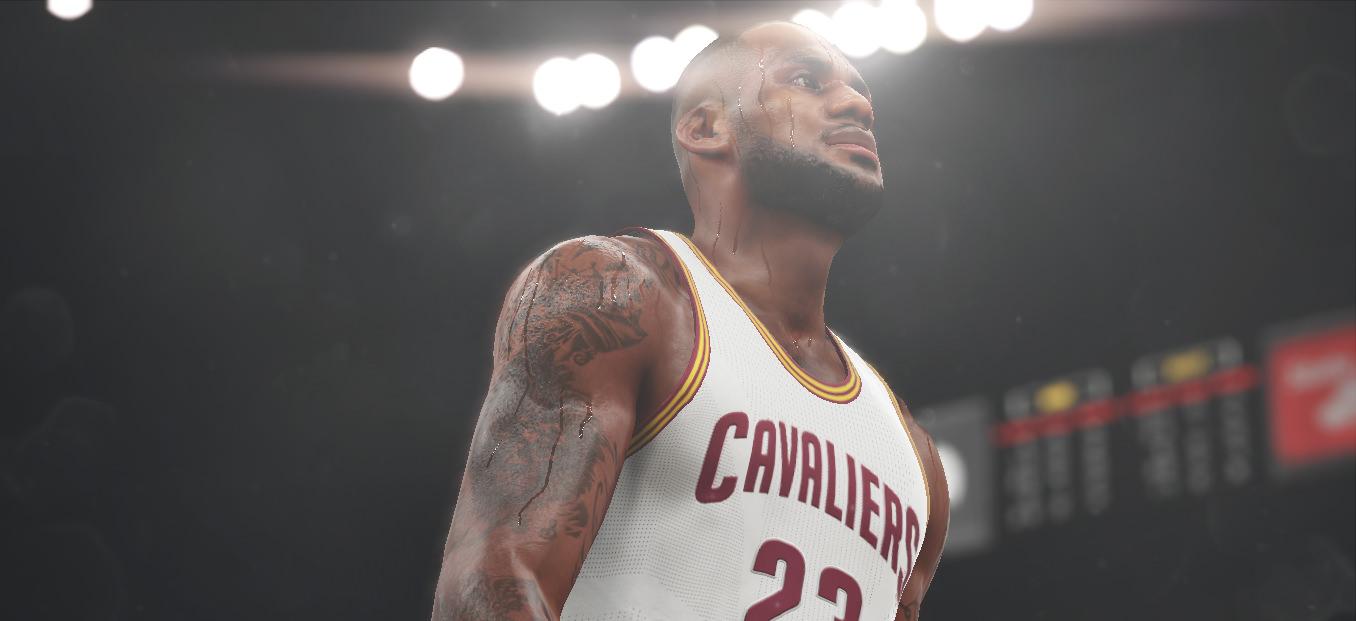 NBA 2k16 Screenshot - LeBron James - Cleveland Cavaliers
