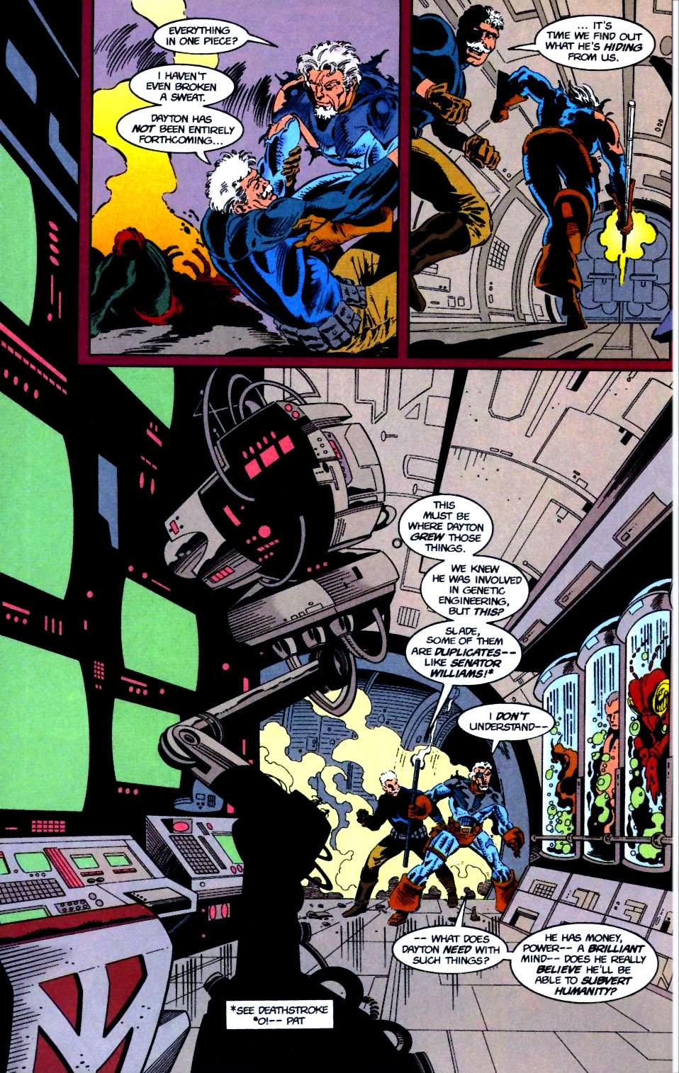 Deathstroke (1991) Issue #50 #55 - English 17
