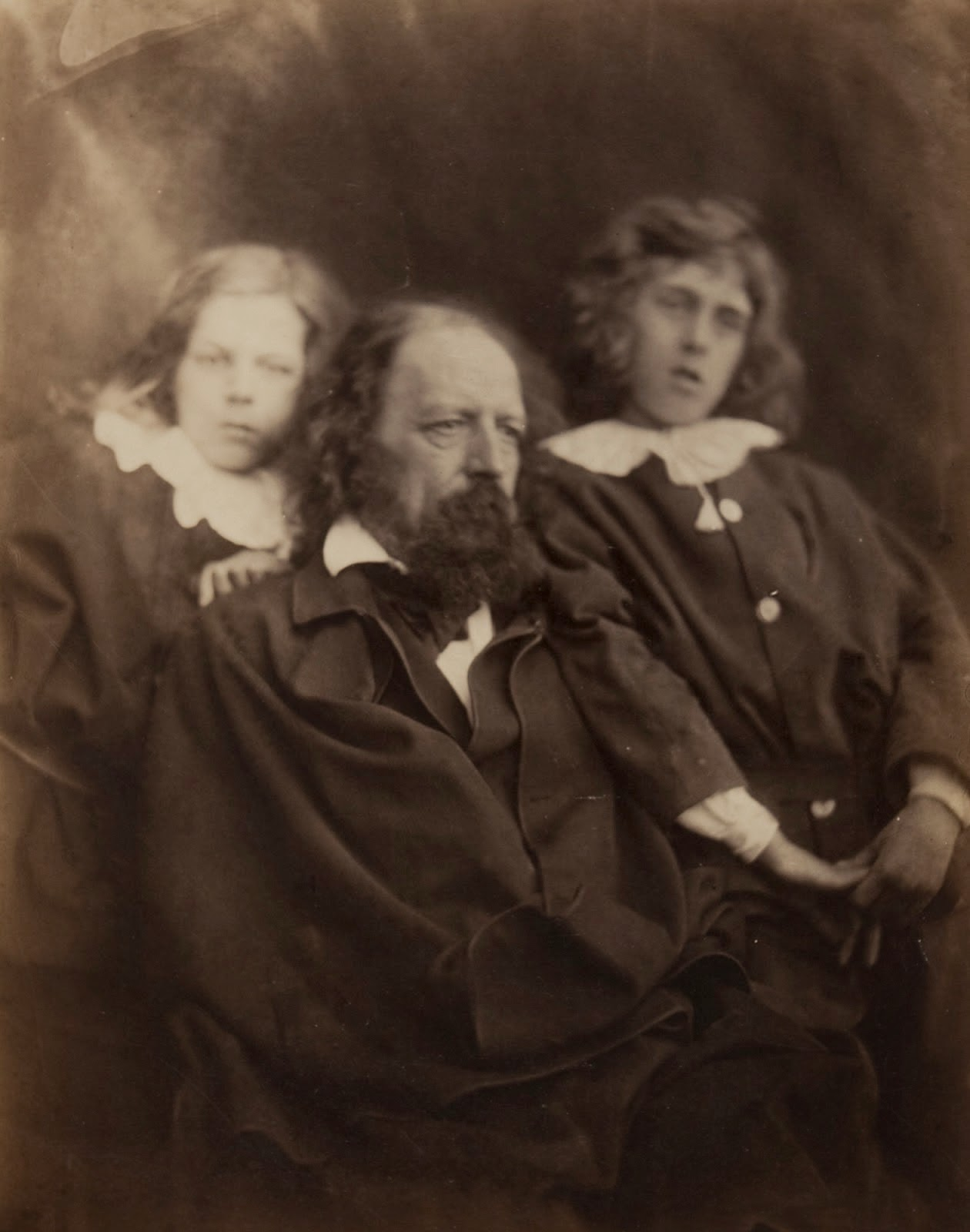 the kissed mouth the wight weekend celebrity tennyson and his sons hallam and lionel c 1862