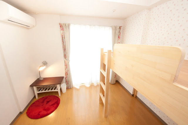 share house, Japan, bedroom, living, accommodation