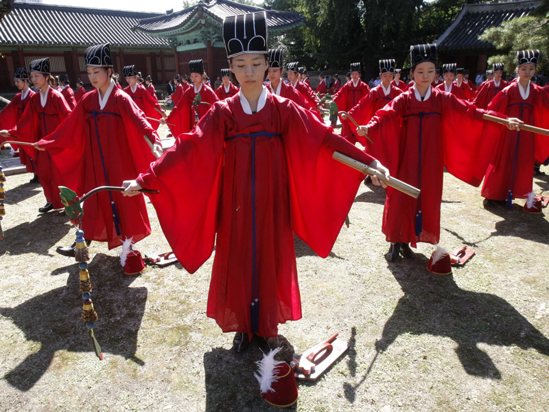 Wisuda Unik di Korea Selatan