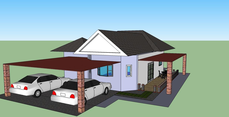 model 3d rumah 4 plan rumah 4 model 3d rumah