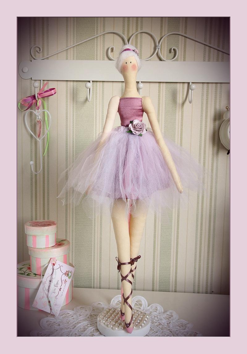 Кукла тильда балерина мастер-класс своими руками
