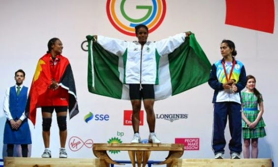 Nigeria wins first gold in Commonwealth Games in Glasgow