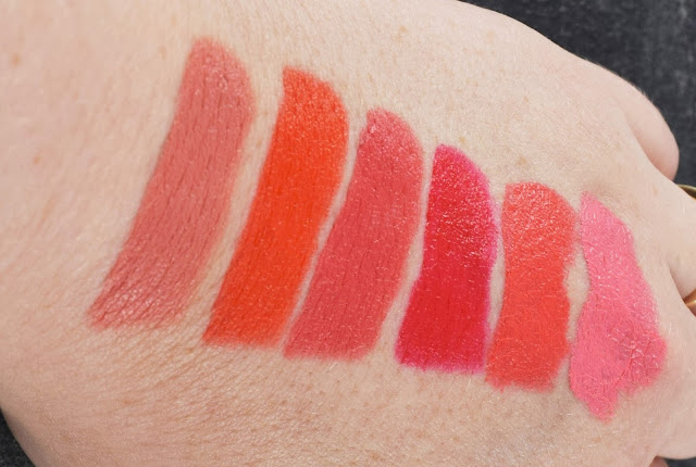 Sleek Lip VIP Lipstick Swatches