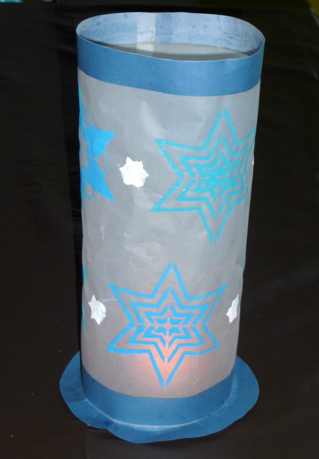 Chez Fantômette Lanterne de Noël pour lAPAEM