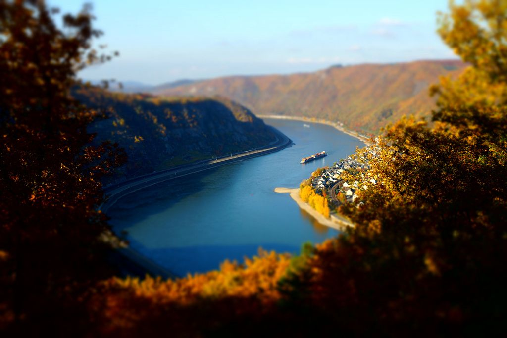 9. Photograph The Rhine near Boppard by Oliver Schneider