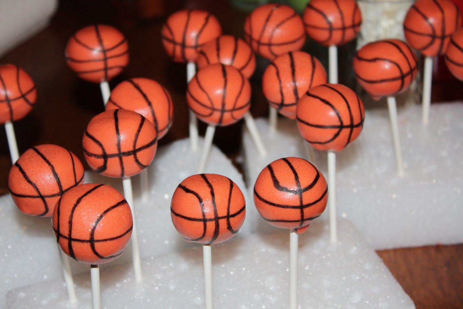 Basketball Cake Pops Tutorial