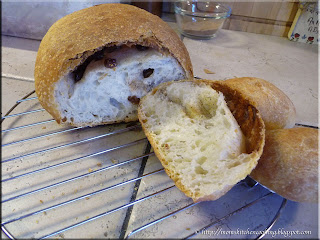 no knead raisin bread